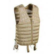 Gilet tactique M.O.L.L.E. tan
