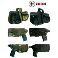 HOLSTER ATTACHES MOLLE : CAM/DROITIER