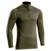 Sweat zippé Thermo Performer niveau 2 vert OD
