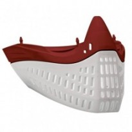 Eflex faceplate rouge blanc