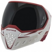 Mas377 - masque evs Empire blanc/rouge