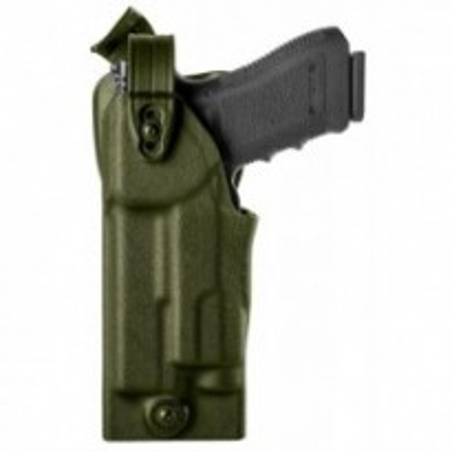 Holster gaucher Warrior VKWM8 vert OD pour GLOCK 17/22 avec Viridian X5L/X5L-R