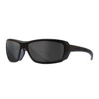 Ecusson silicone groupe sanguin dos auto-agrippant : O + Noir