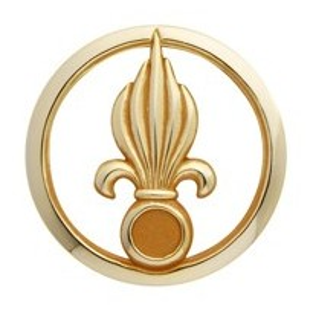 Insigne de béret doré Légion Étrangère d'Infanterie