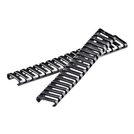 Poncho PVC vert