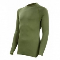 SU8030GR - Tee-shirt thermorégulant Technical Line. Vert Kaki