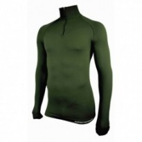 SU8045GR - Tee-shirt thermorégulant Technical Line. Vert kaki