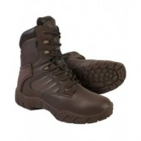 Tactical pro 1 zip tout cuir Marron