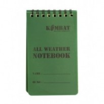 Carnet de note waterproof 12,8*7,6cm