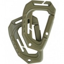 Mousquetons Spec-ops carabiner - Lot de 10 Coyote
