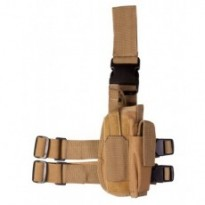 Holster de cuisse TACTICAL - Coyote