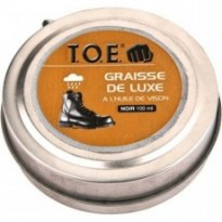 Graisse brillante 100 ml noir