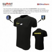 Tee-shirt Gendarmerie Mobile en Technical Line