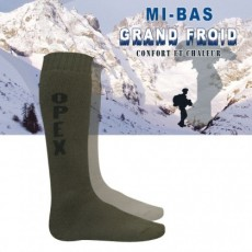 CHAUSSETTE MIS BAS OPEX GRAND FROID : Vert 36/38