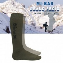 CHAUSSETTE MIS BAS OPEX GRAND FROID : Vert 43/46