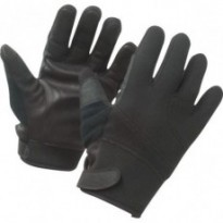 GANTS ANTI COUPURES INTEMPERIES NOIR