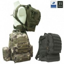 SAC A DOS TACTICAL MOLLE MILITAIRE : Vert