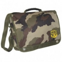 CARTABLE PORTE DOCUMENTS SERIGRAPHIE TDM : Camouflage