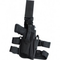 Holster de cuisse TACTICAL - Noir