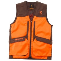 Gilet upland hunter - Vert/orange