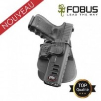 Holster rigide polymere pour Glock retention active index : Gaucher