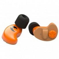 Oreillettes actives wireless Shothunt chasse orange